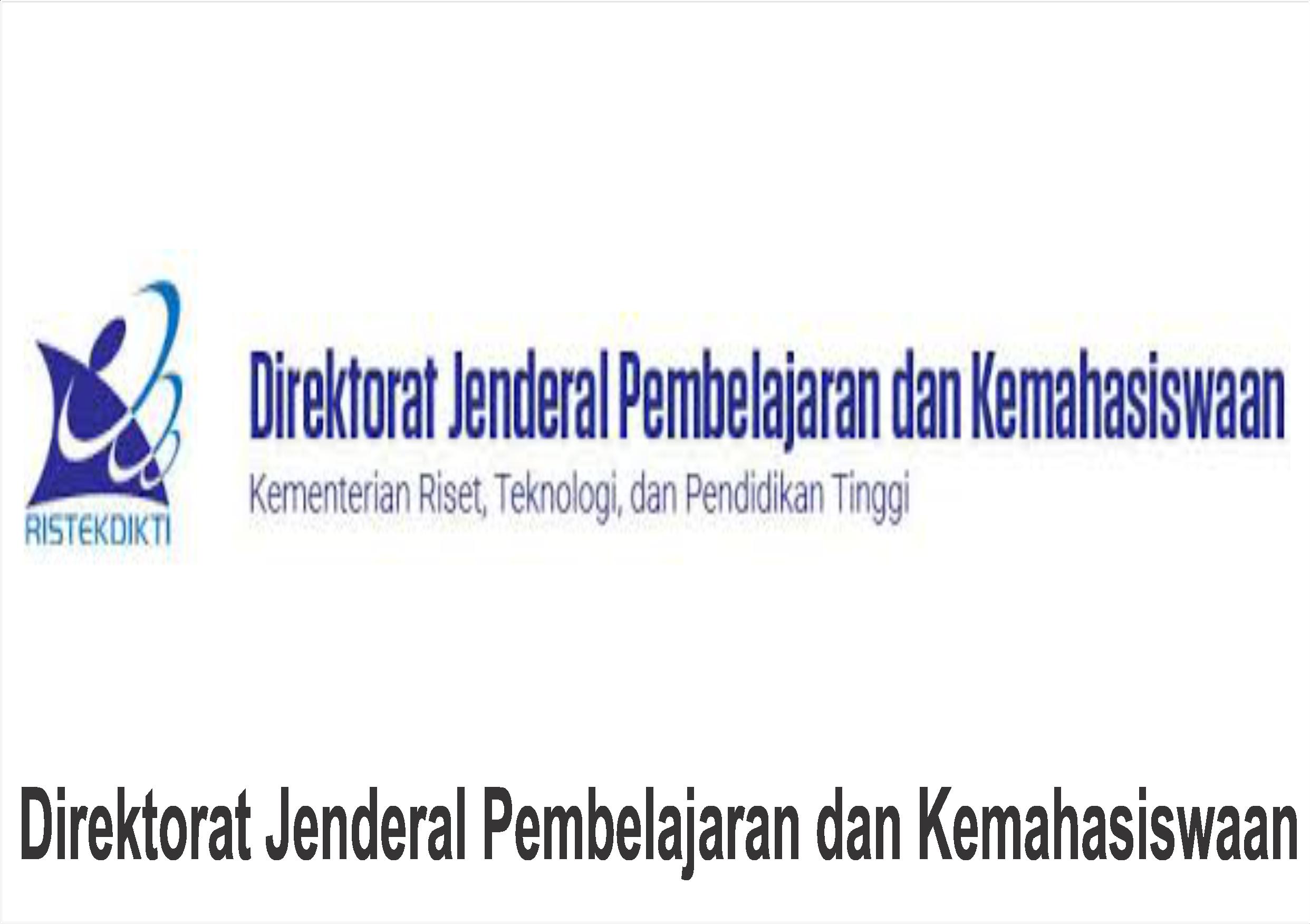 Direktorat Jenderal Pembelajaran dan Kemahasiswaan